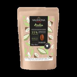 Couverture Valrhona milk chocolate Azélia 250gr