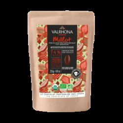 Couverture Valrhona dark chocolate Millot 250gr