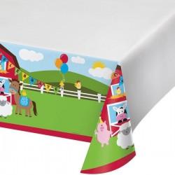 Tablecloth Farm animals