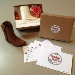 CakeStructure - Cowboy Boot Kit - Kit pour bottes de cowboy