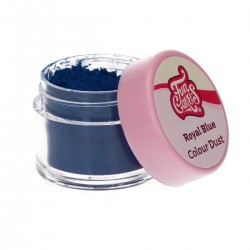Royal blue powder dye