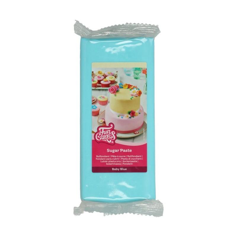 """Pâte à sucre """"Baby Blue"""" - 1kg"""