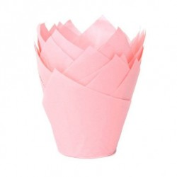Tulip baking cups Babypink