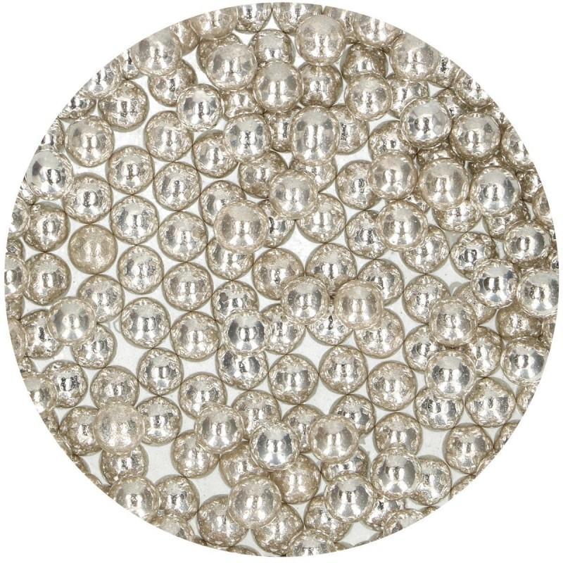 Perles Métalliques en sucre 8mm