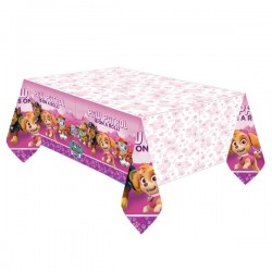 Tablecloth pink Paw Patrol