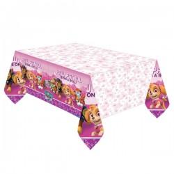 Tischdecke rosa Paw Patrol