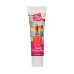 Gel food colors poppy red