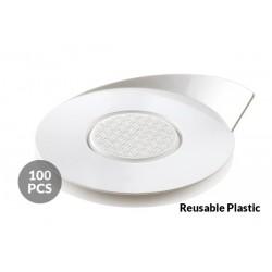 Round Base white