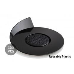 Round Base black