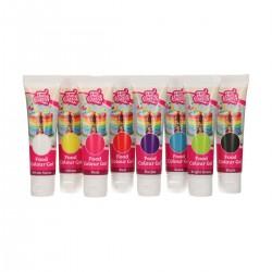 Set colorants gels Funcakes - 8 pcs