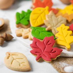Cookie-cutters leaves