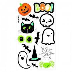 Temporäre Tattoos Halloween