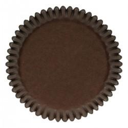 Cupcakes Förmchen Braun pk 48