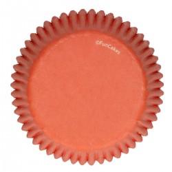 Cupcakes Förmchen Orange pk 48