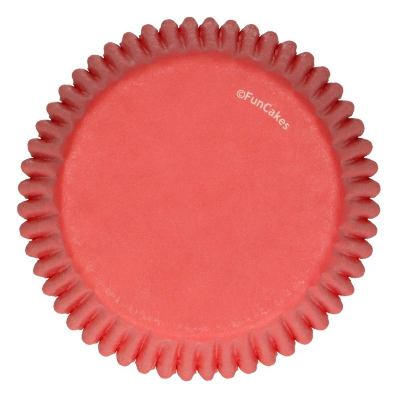 Baking cups Red pk 48