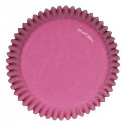 Baking cups Pink pk 48