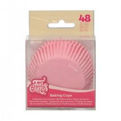 Baking cups Light Pink pk 48