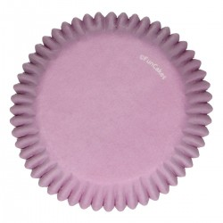 Baking cups Purple pk 48