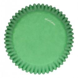 Cupcakes Förmchen Grün pk 48