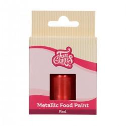 """Metallic-Lebensmittelfarbe """"Rot"""""""