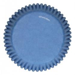 Cupcakes Förmchen Blau pk 48