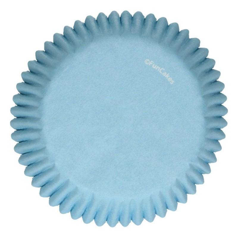 Baking cups Light Blue pk 48