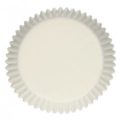 Baking cups White pk 48