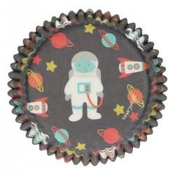 Cupcakes Förmchen Galaxie pk 48