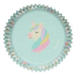Baking cups Unicorn pk 48