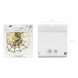 Decoration Spider Web gold