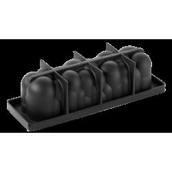 Silicone Mould log Atomic