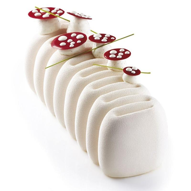 Silicone Mould log Crème