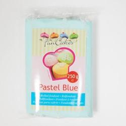 """Pâte a Sucre """"Pastel Blue"""" Bleu pastel - 250gr"""