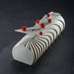 Silicone Mould log Comet