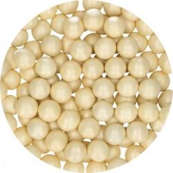 Perlen Elfenbein aus Schokolade