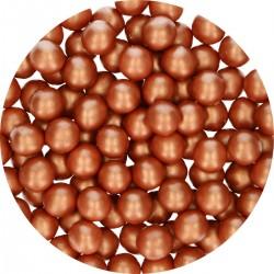 Perlen Kupfer aus Schokolade