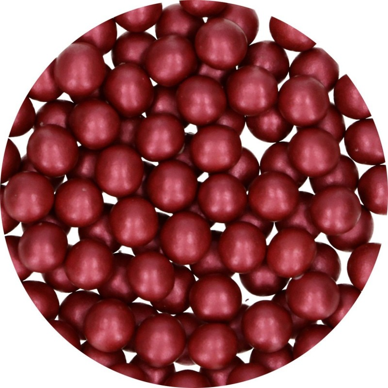 Pearls Bordeaux in chocolate