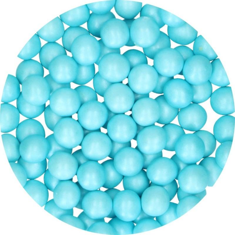 Perlen Blau aus Schokolade