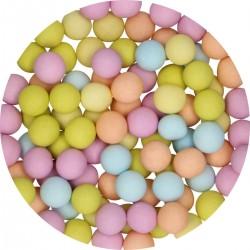 Perlen mattes Mehrfarbig aus Schokolade
