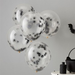 5 Ballons araignées
