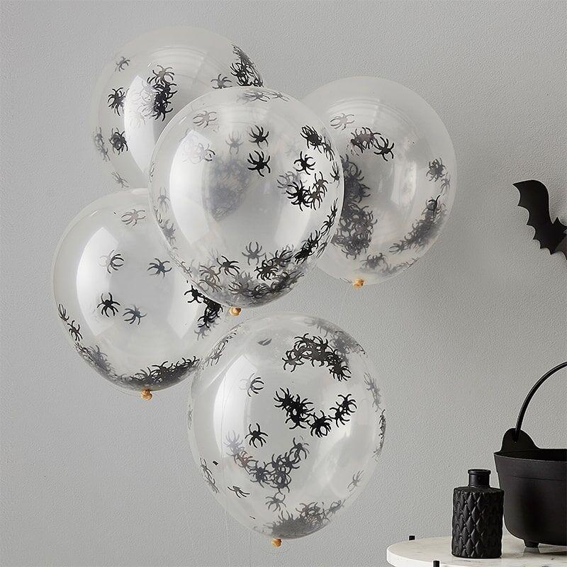 5 Luftballons Spinnen