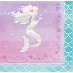 Handtücher mit Meerjungfrauen-Silhouette