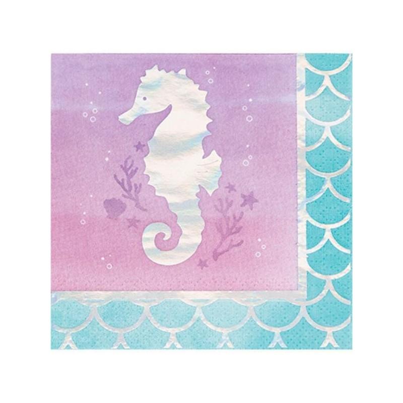 Napkins small mermaid