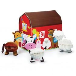 Table decoration Farm animals