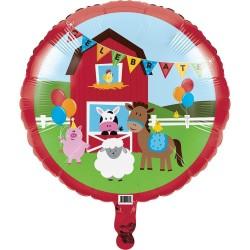 Balloon Farm animals Foil