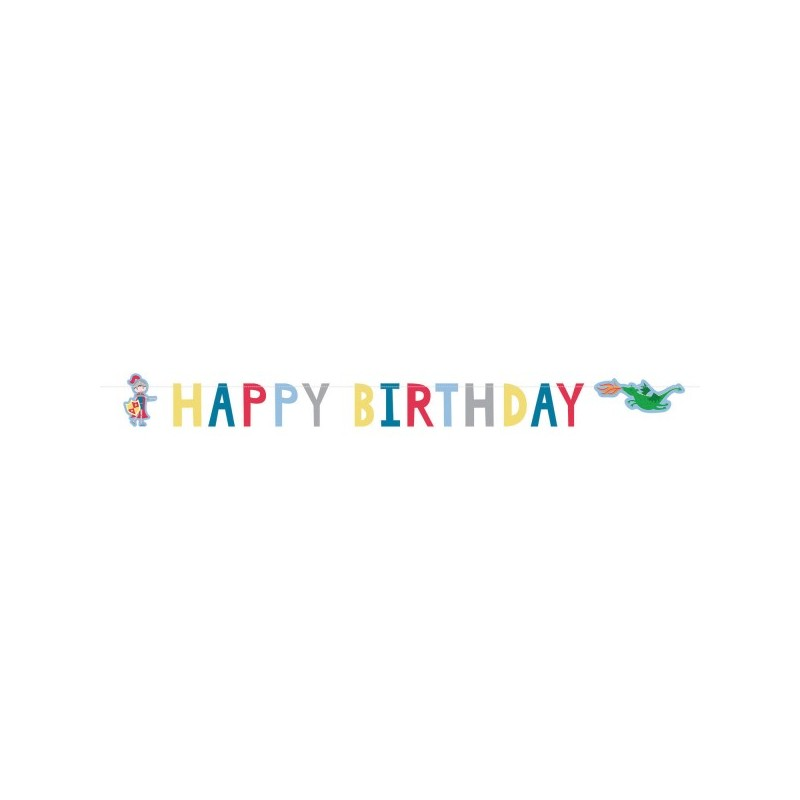 Garland Happy Birthday Knights