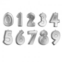 Numbered cake mould of your choice