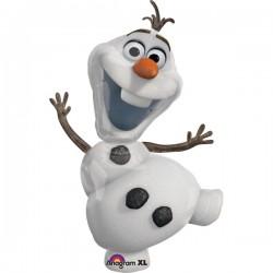 Ballon 3D Olaf aluminium