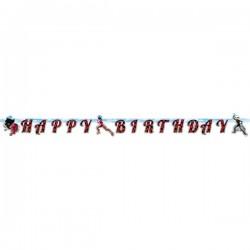 Guirlande Happy Birthday Miraculous