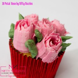 "Nifty Nozzle - Rose 10 pétales ""10 Petal Rose"""
